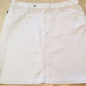 Ralph Lauren Denim Mini Skirt